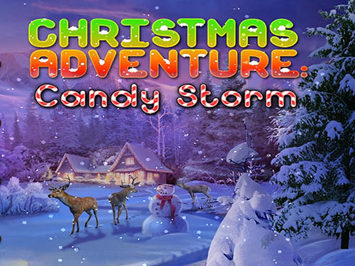 Christmas adventure: Candy storm poster