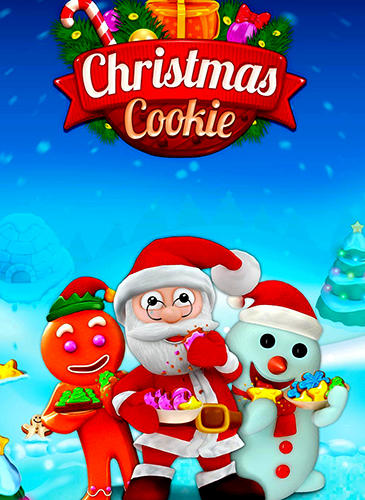Christmas cookie poster