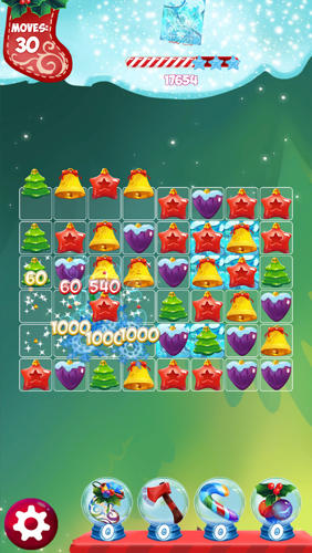 Christmas match 3: Puzzle game screenshot 2