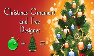 Christmas Ornaments and Tree poster