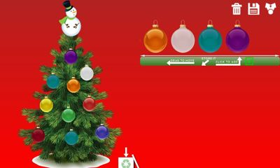 Capturas de pantalla de Christmas Ornaments and Tree para tabletas y teléfonos Android.
