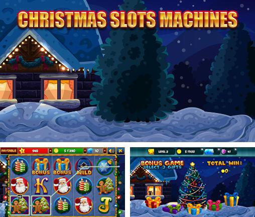 Christmas slots machines