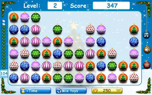 Screenshots von Christmas tree toys für Android-Tablet, Smartphone.