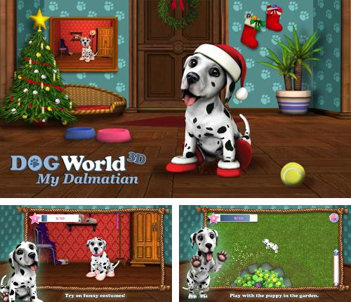 Christmas with dog world