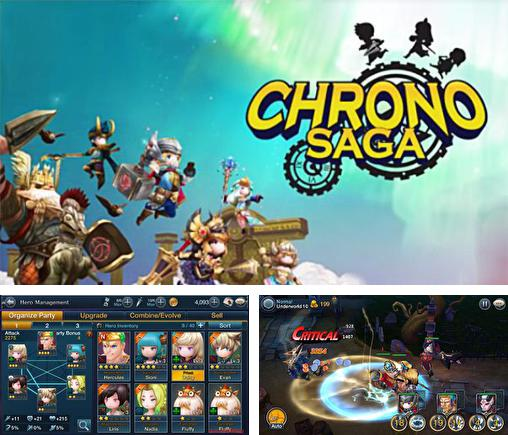 In addition to the game Heroes: Islands of adventure for Android phones and tablets, you can also download Chrono saga for free.