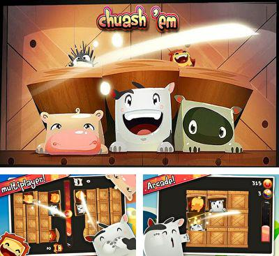 In addition to the game Jetpack War for Android phones and tablets, you can also download Chuash 'em for free.