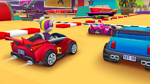 Скачати гру Chuck E. Cheese's racing world на Андроїд телефон і планшет.
