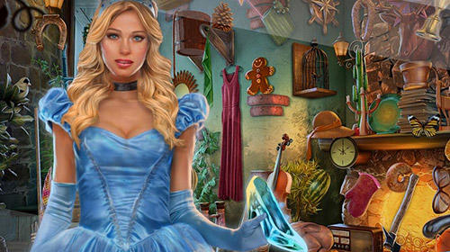 Screenshots von Cinderella and the glass slipper: Fairy tale game für Android-Tablet, Smartphone.