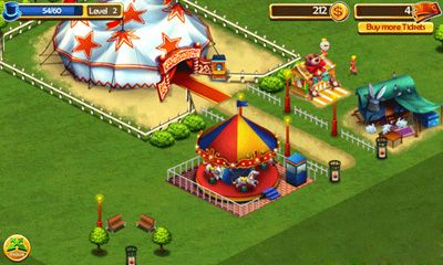 Screenshots von Circus City für Android-Tablet, Smartphone.