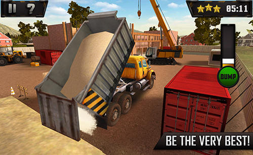 Screenshots do Extreme trucks simulator - Perigoso para tablet e celular Android.