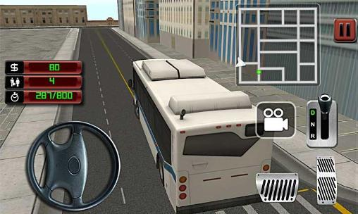 Jogue City bus driver 3D para Android. Jogo City bus driver 3D para download gratuito.
