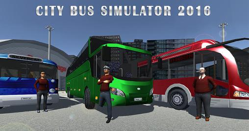 City bus simulator 2016 poster