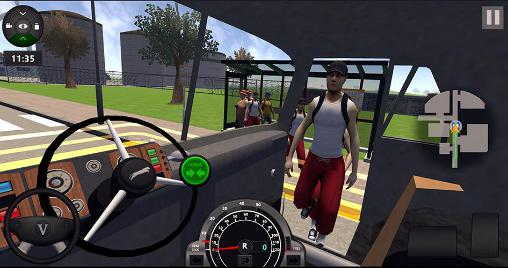School bus driver coach 2 screenshot 1