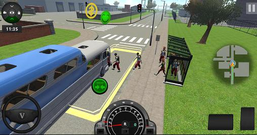 School bus driver coach 2 screenshot 2