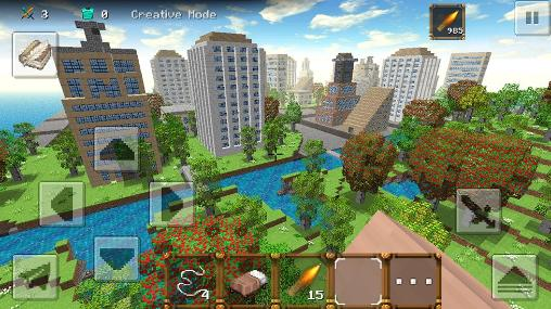 Kostenloses Android-Game City Craft 3: TNT Edition. Vollversion der Android-apk-App Hirschjäger: Die City craft 3: TNT edition für Tablets und Telefone.