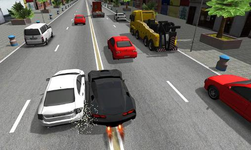 City extreme traffic racer screenshot 1