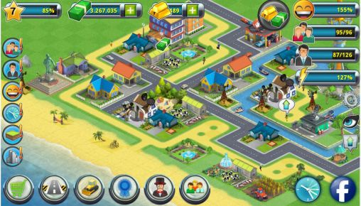 Screenshots von City island 2: Building story für Android-Tablet, Smartphone.