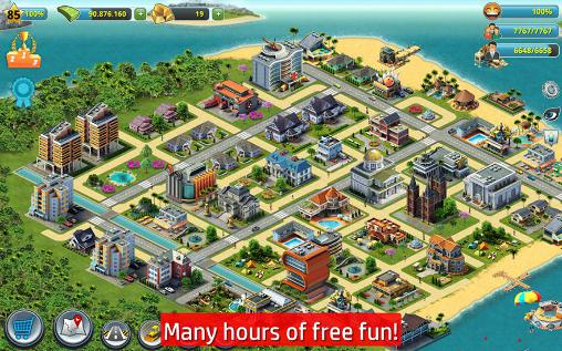 Screenshots von City island 4: Sim town tycoon für Android-Tablet, Smartphone.