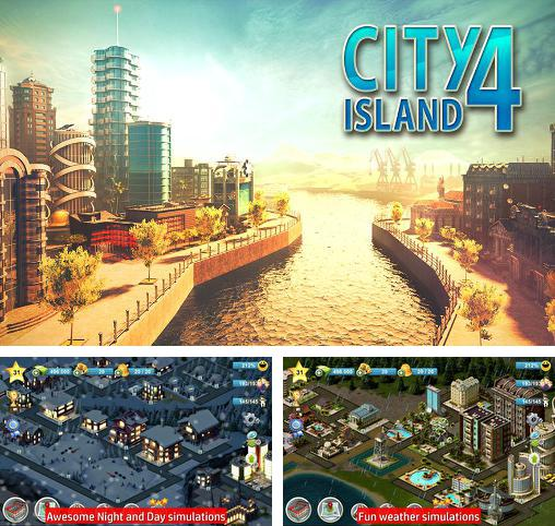 In addition to the game Township for Android phones and tablets, you can also download City island 4: Sim town tycoon for free.