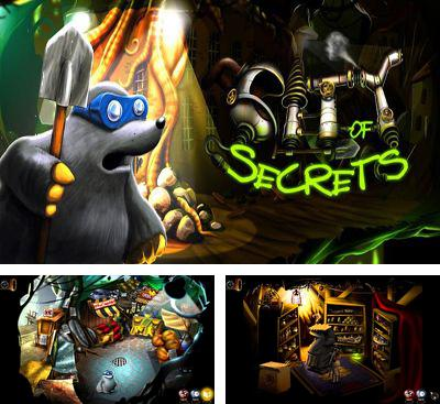 In addition to the game Marv The Miner 3: The Way Back for Android phones and tablets, you can also download City Of Secrets for free.