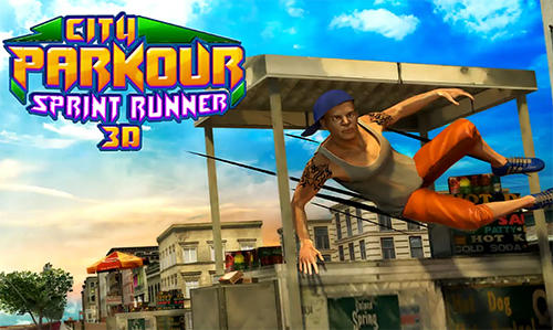 City parkour sprint runner 3D обложка
