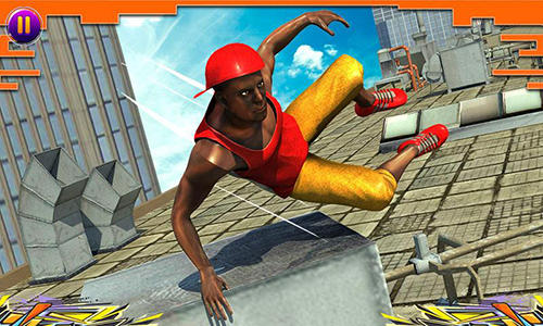 City parkour sprint runner 3D скриншот 2