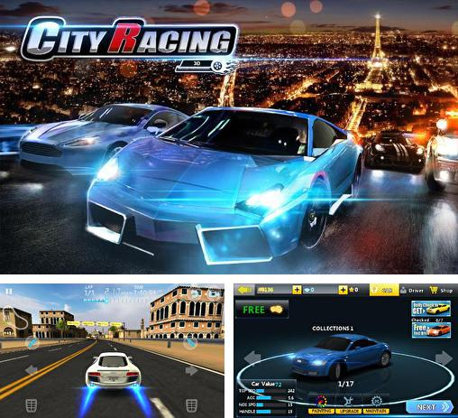 In addition to the game Crazy racer 3D for Android phones and tablets, you can also download City racing 3D for free.