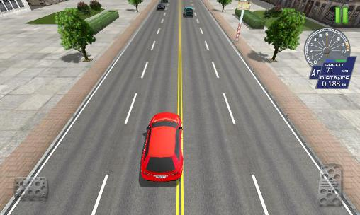 Гра City road traffic simulator на Android - повна версія.
