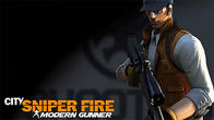 City sniper fire: Modern shooting