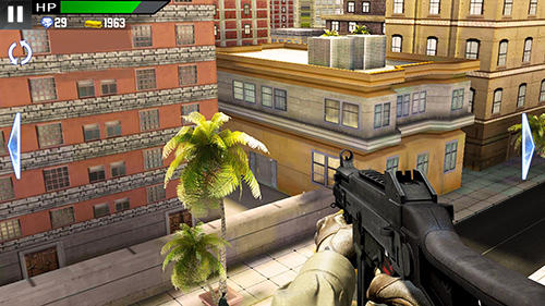 Гра City sniper fire: Modern shooting на Android - повна версія.