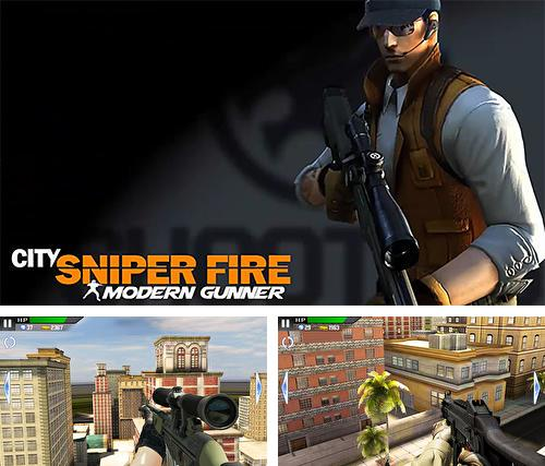 In addition to the game Charlie Hop for Android phones and tablets, you can also download City sniper fire: Modern shooting for free.