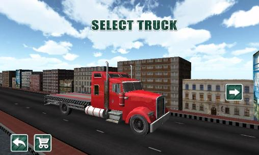 City transporter 3D: Truck sim screenshot 1
