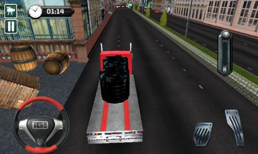 City transporter 3D: Truck sim screenshot 2