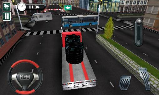 City transporter 3D: Truck sim screenshot 3