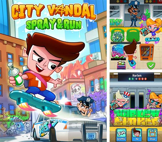 In addition to the game Stack jump for Android phones and tablets, you can also download City vandal: Spray and run for free.