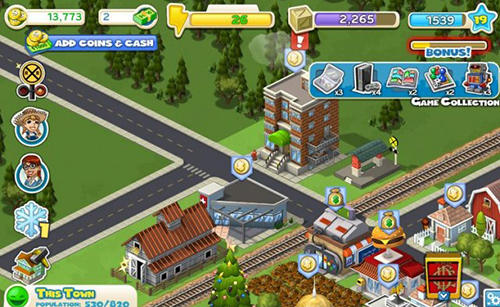 Screenshots von Cityville für Android-Tablet, Smartphone.