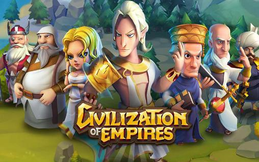 Civilization of empires poster