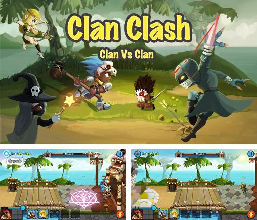 In addition to the game Clan clash: Clan vs clan for Android, you can download other free Android games for ZTE Nubia Z9 Max.