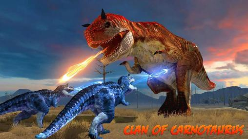 Clan of carnotaurus обложка