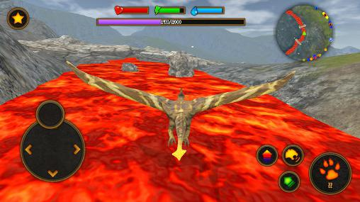 Screenshots von Clan of pterodactyl für Android-Tablet, Smartphone.