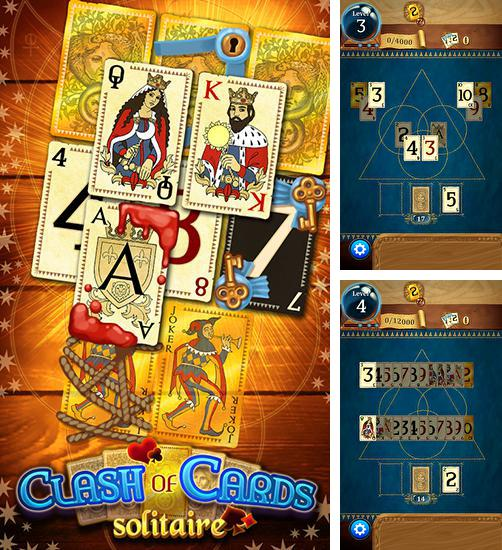 In addition to the game Fairway Solitaire for Android phones and tablets, you can also download Clash of cards: Solitaire for free.