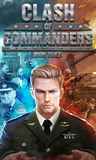 Clash of commanders: Iron tides poster
