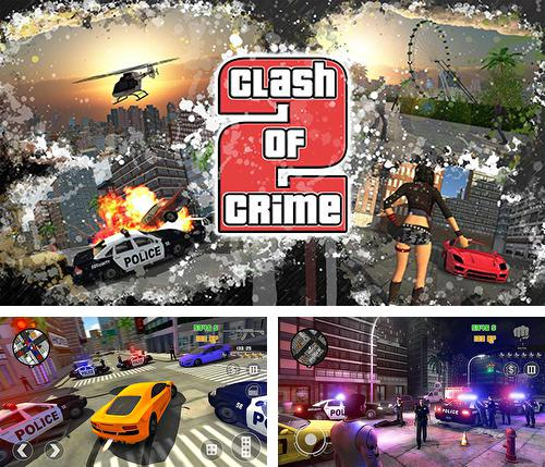 In addition to the game Gangstar: Miami Vindication for Android phones and tablets, you can also download Clash of crime: Mad city war go for free.