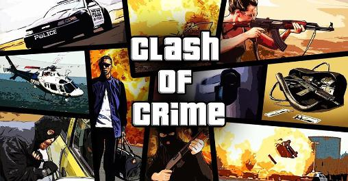 Clash of crime: Mad San Andreas poster