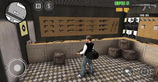 Screenshots do Clash of crime: Mad San Andreas - Perigoso para tablet e celular Android.