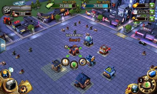 Screenshots of the Clash of gangs for Android tablet, phone.