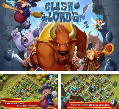 In addition to the game Clash of gangs for Android phones and tablets, you can also download Clash of Lords for free.