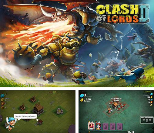 In addition to the game Clash of gangs for Android phones and tablets, you can also download Clash of lords 2 for free.