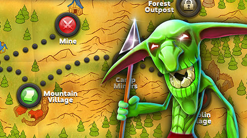 Kostenloses Android-Game Zusammenstoß von Macht und Magie. Vollversion der Android-apk-App Hirschjäger: Die Clash of might and magic für Tablets und Telefone.
