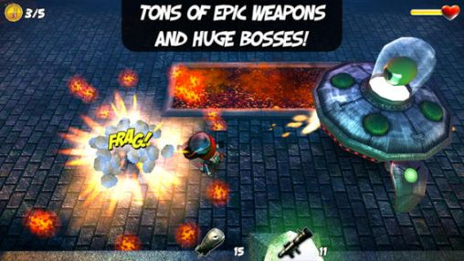 Screenshots of the Clash of puppets for Android tablet, phone.